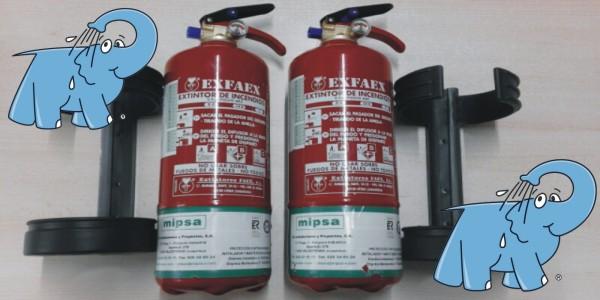 extintores que puedes adquirir en Elefante Azul Valdepeñas