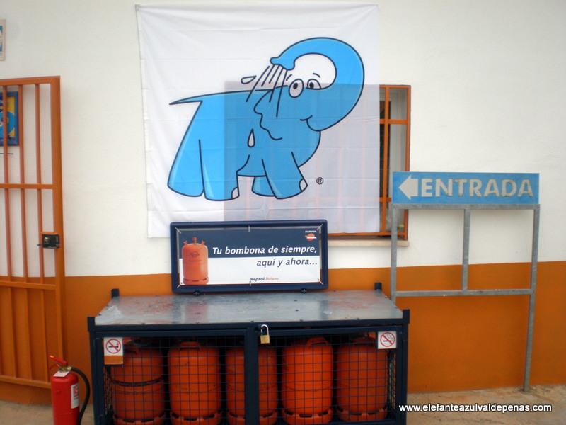 venta de butano y propano en Elefante Azul Valdepeñas