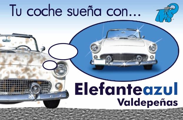 Tu coche sueña con Elefante Azul Valdepeñas