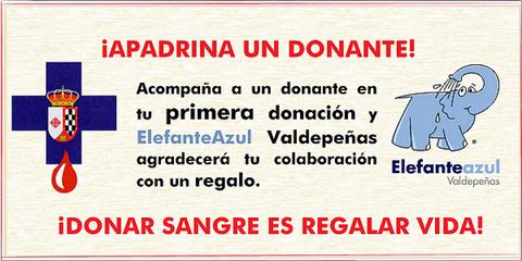 Elefante Azul Valdepeñas - ¡Apadrina un donante! - Centro de lavado de coches Elefante Azul Valdepeñas