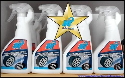 Elefante Azul Valdepeñas - Limpiallantas Elefante Azul - Centro de lavado de coches Elefante Azul Valdepeñas
