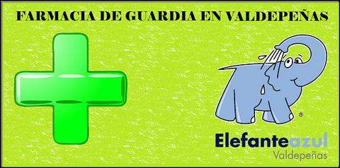 Elefante Azul Valdepeñas - Farmacia de guardia en Valdepeñas