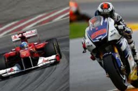 Elefante Azul Valdepeñas - Comparativa Moto GP y Fórmula 1 - Centro de lavado de coches Elefante Azul Valdepeñas