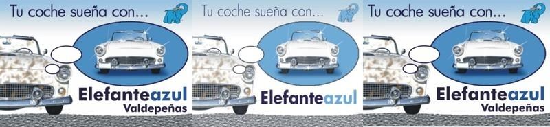 Elefante Azul Valdepeñas -  Lavado a presión - Centro de lavado de coches Elefante Azul Valdepeñas